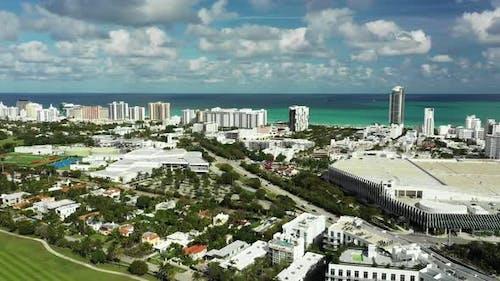 Aerial Miami by Dade Boulevard