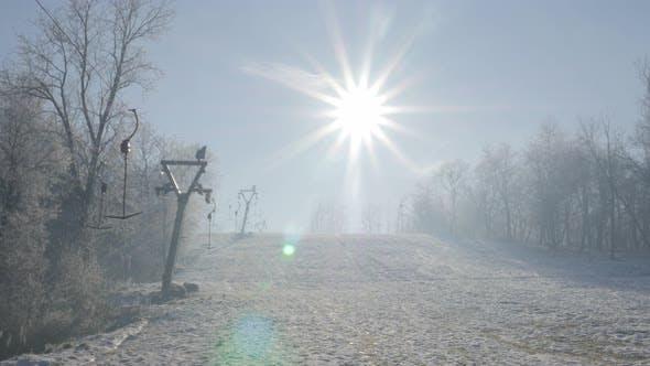 Thumbnail for Snowed hills of Kraljevica park forest near town of Zajecar in Eastern Serbia 4K 2160p UHD video - F