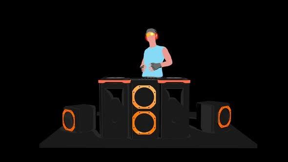 Thumbnail for 2D DJ VJ Loop