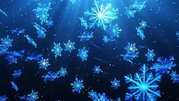 Thumbnail for Christmas Snow Flakes