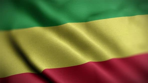 Pan African Flag Angle