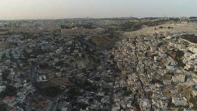 Aerial of Jerusalem
