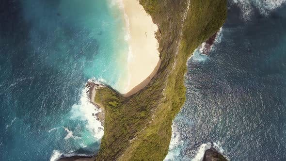 Thumbnail for Aerial Ocean Coast Cliff
