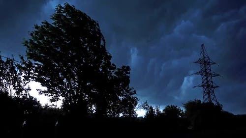 Dark moody storm clouds. Dark and dramatic storm clouds area background
