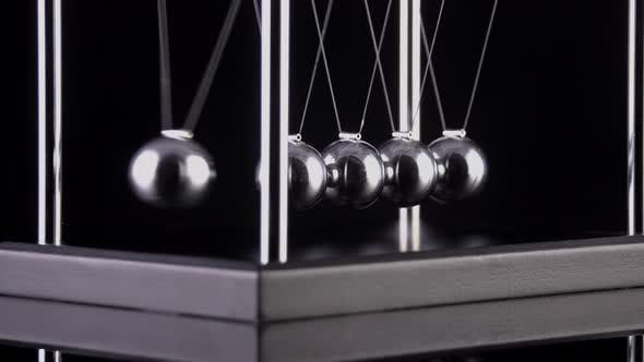 Newton's Cradle Slow Motion - product preview 0