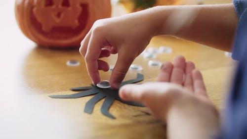 Oktober ist die Zeit von Halloween