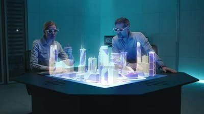 Architects Discussing Urban Development