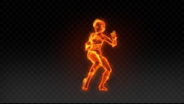 Fiery Girl Dance 12