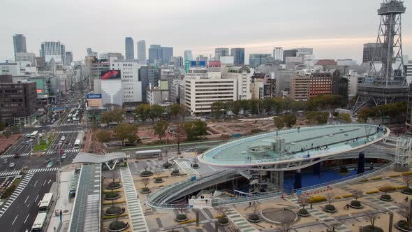 Thumbnail for Nagoya City Traffic Metropolis View Timelapse