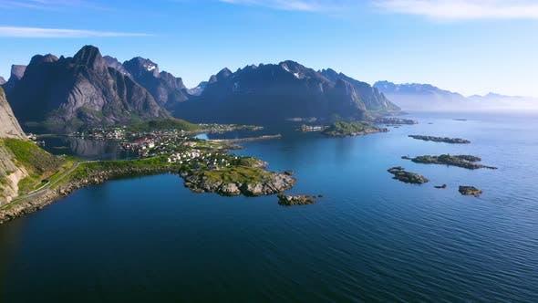 Beautyful Norwegian landscape