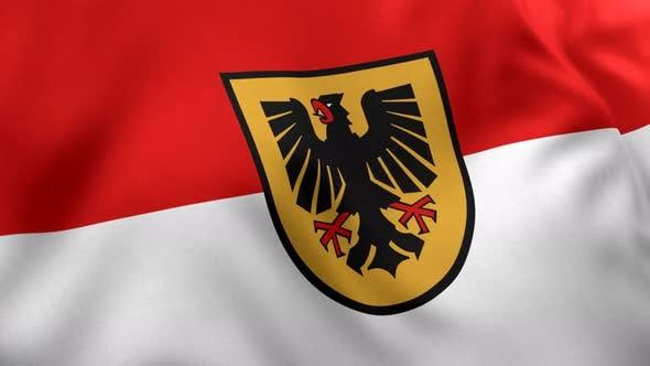 Dortmund City Flag - 4K