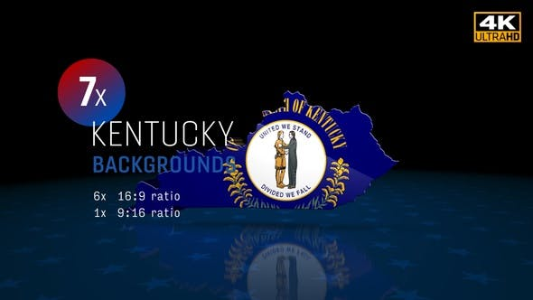 Kentucky State Election Backgrounds 4K - 7 Pack