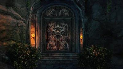 Evil Castle Door