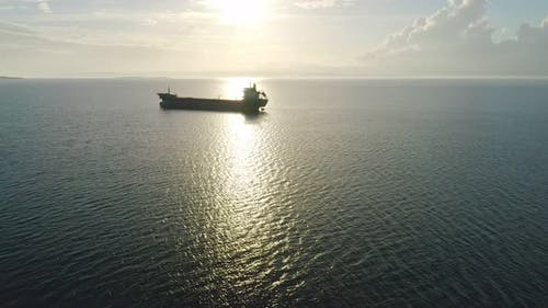 Freighter Aerial