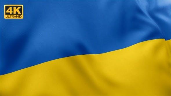 Thumbnail for Flag of Ukraine - 4K