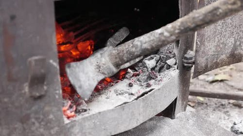 Serbian rakija boiler fire in slow motion   distilled process procedure 1080p FullHD footage - Tree