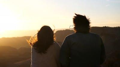 A Couple On Their Backs
