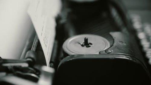 Erfindung der Schreibmaschine, Retro Publishing Business, Vintage Objects