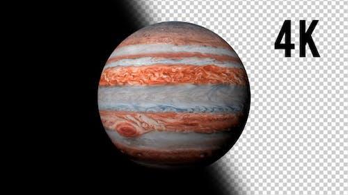 Jupiter in 4K