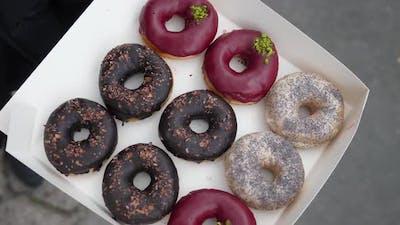 Vegan Desserts Concept