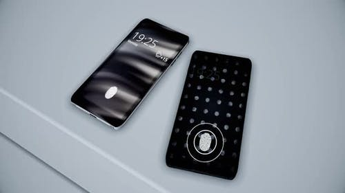 Biometric protection of smartphone
