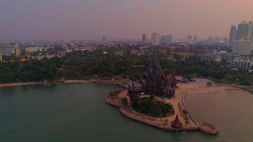 Golden Hour In Pattaya