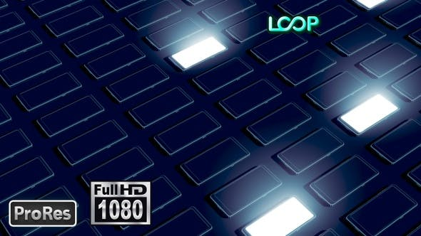 Thumbnail for Phones - FullHD Background Loop