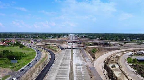 Building Highway, Motorway or Expressway