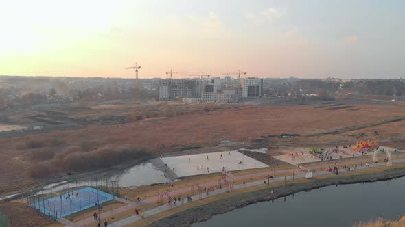 Sport Park And River