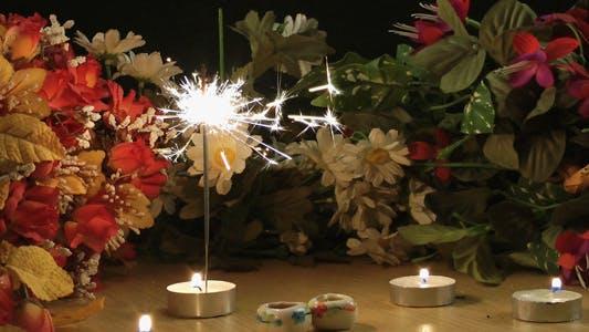 Thumbnail for Blumen und Kerzen