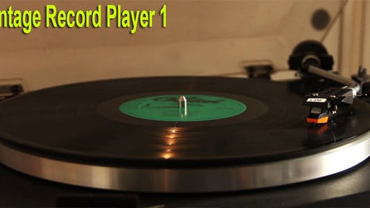 Thumbnail for Vintage Record Player 1