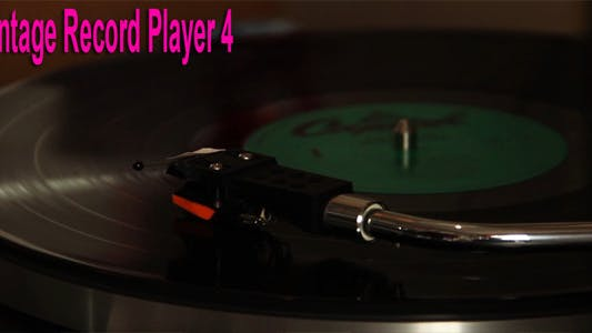 Thumbnail for Vintage Record Player 4