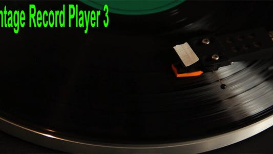 Thumbnail for Vintage Record Player 3