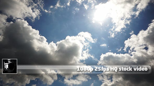 Thumbnail for Sun And Clouds Time Lapse 5