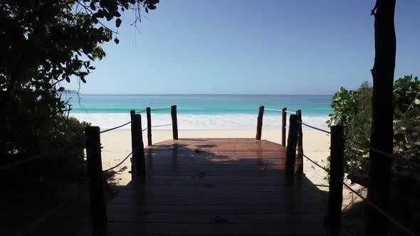 Thumbnail for Seychelles Beach with Blue Ocean View