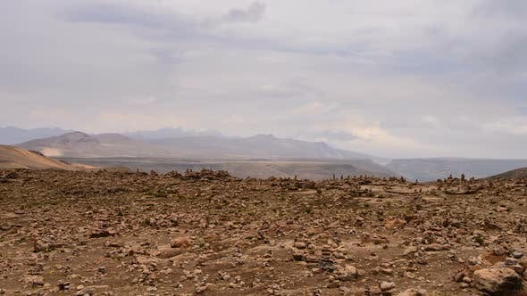 Thumbnail for Road Pass between Arequipa and Chivay in Peru