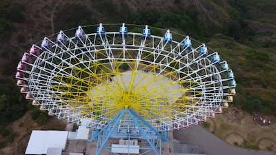 Ferris Wheel Top View