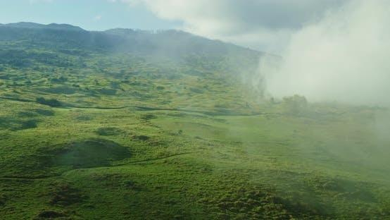 Thumbnail for Aerial View Flying over Beautiful Countryside