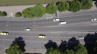 Riverside Traffic Aerial
