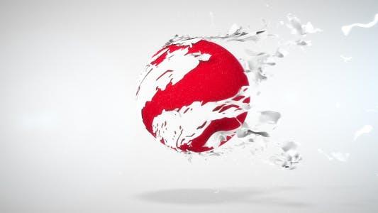 Thumbnail for Tearing Sphere Logo Reveal