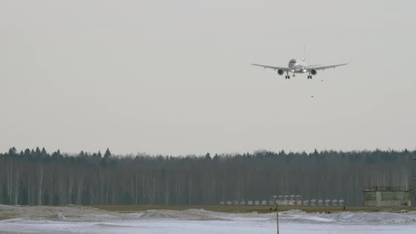 Thumbnail for An Airplane Landing Above the Forest