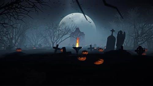 Halloween In Gravestone 01 HD