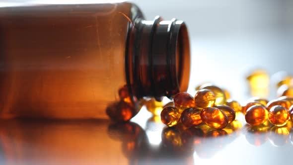 Thumbnail for Closeup shot of vitamins