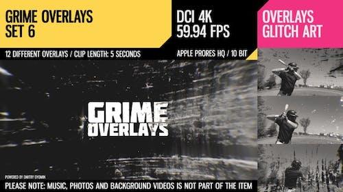 Grime Overlays (4K Set 6)