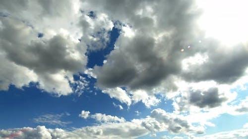 Dark White Winter Rain Clouds 3