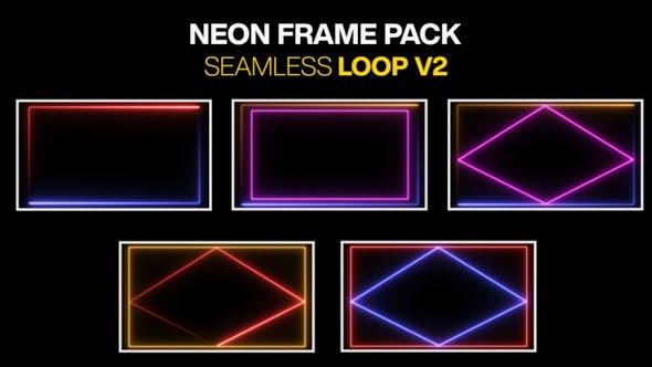 Neon Rahmen Rahmen Pack Loop V2