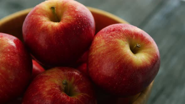 Thumbnail for of Red Apples in Bowl