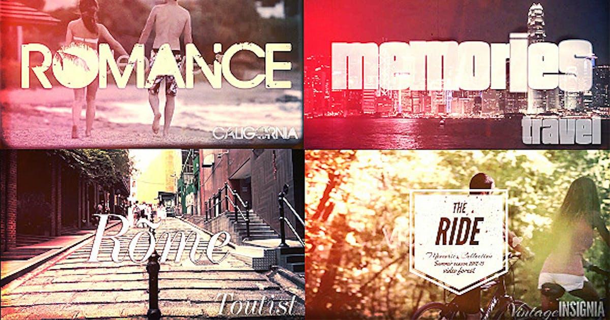Download Travel Memories, Typography Slideshow by xFxDesigns