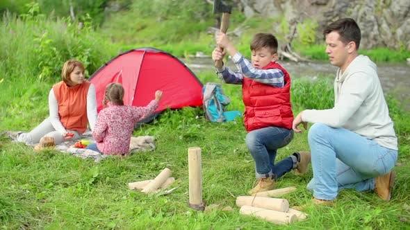 Cover Image for Little Lumberjack