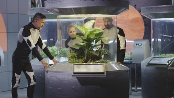 Thumbnail for Astrobiologists Examining Plant Incubator